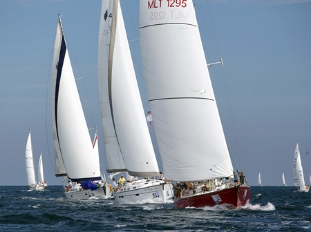 The Phuket King's Cup Regatta will once again put on a spectacular display of the finest sailing talent from around the world from Dec. 1-8, 2012. (Photo by Guy Nowell)