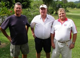 John Pierrel, Bernie McCart & Stephen Newton.