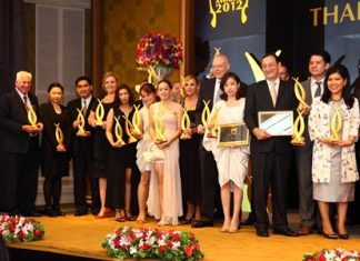 A relative 'who's who' of the kingdom's real-estate industry gathered at the Dusit Thani in Bangkok last month for the 2012 Thailand Property Awards.