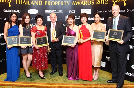 Property management company CB Richard Ellis won in 2 categories and were highly commended in 4 others.