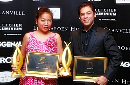 Jones Lang LaSalle Hotels received awards for Thailand's Best Best Commercial Agent & Best Agency Deal.