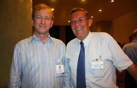 Simon Landy, Chairman, British Chamber of Commerce Thailand and Richard L. Rome, FCA, CTA.