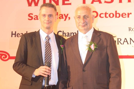 Accolades for the two wine connoisseurs Christoph Voegeli and Peter Papanikitas.