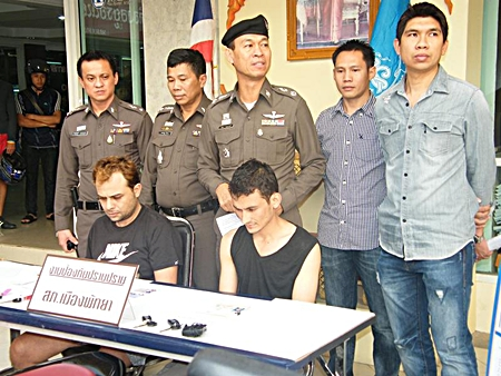 Nadeem Ejaz, from Pakistan, and Ipekxi Ipalem, from Greece have been arrested for stealing motorcycles.