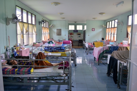 The A.X. Fassbind Medical Home where the elderly frail and sick need your support.