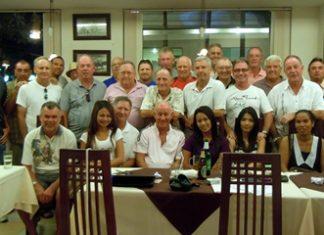Jomtien golfers & partners at the Panda Golf Tour Chiang Mai 2012.