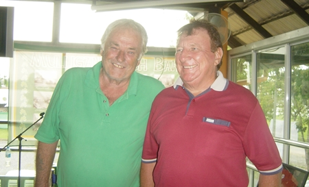 Brian & Clive, stars of the show last week.