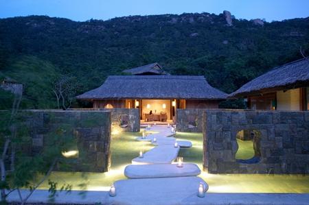 Spa Reception at Six Senses Ninh Van Bay