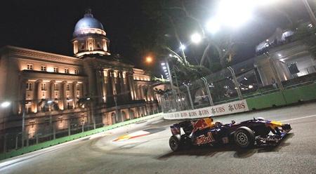 F1 lighting.