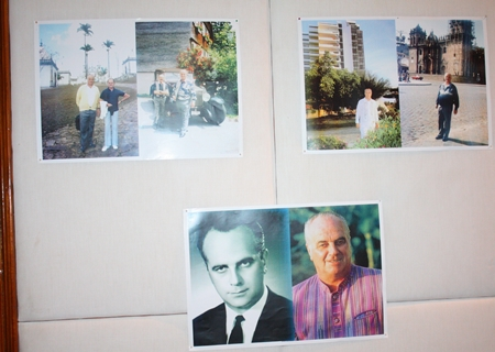 A photo exhibition of Louis Fassbind was displayed in the Royal Summit Chamber.