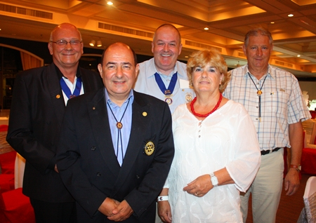 Friends from the Rotary Club Eastern Seaboard.