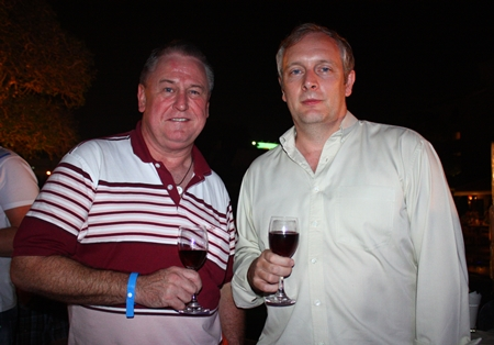 John Howarth, MD of Asia Pacific Pensions and Tim Gladwin, MD of Sallmanns.