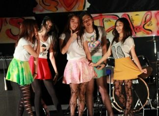 The boarding house girls danced their way into third spot.