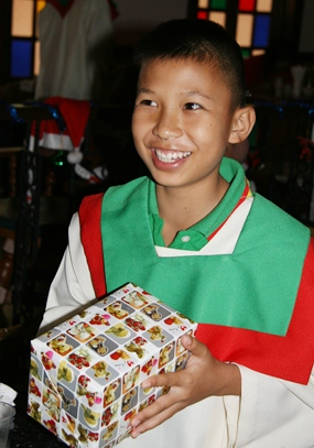 Your participation on 12-12-12 will ensure that each and every child and student receives a gift at the Christmas party.