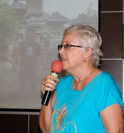 Chair Pat Koester & friend Donna Westendorf had a trip to escape Songkran earlier this year, and in this week's presentation they told us of their adventures on the picturesque island of Bali.