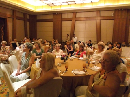 Sixty-three members and guests attended the event.