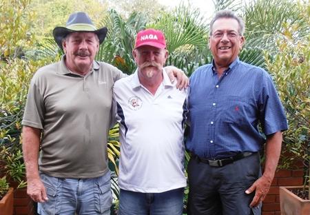 Roy Dayton, Peter Grey & John Pierrel