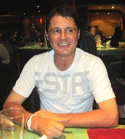 A Flight winner Mark Wood.