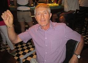 B Flight winner Gerry Cooney.
