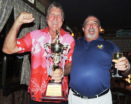 Rosco & John, the backbone of the Outback win against the German Swiss team on Friday.