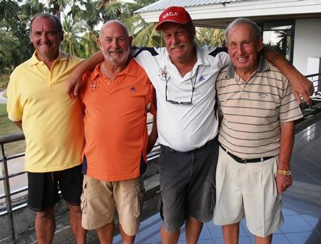 Sandy Leiper, Max Bracegirdle, Scott Leszcynski & Don Richardson.