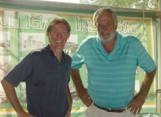 Jonathan Pratt & Clive Hoseason.