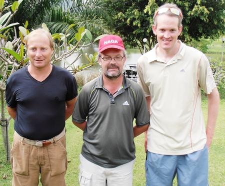 Mike Allidi, Allan Tranaeker & Brad Todd.