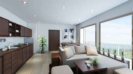 Units will enjoy excellent views from the location on the crest of Thappraya Road.