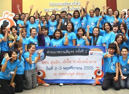 Deputy Director Dr Supakorn Winwun and staff of the Diabetic Centre of the Bangkok Hospital Pattaya held a mobile seminar on diabetes recently at Nong Nooch Tropical Gardens to give advice and information to patients on how to take better care of their health.
