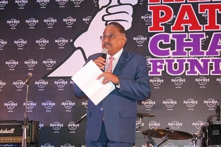 Peter Malhotra, MD of Pattaya Mail spoke of 'Peace through service'.