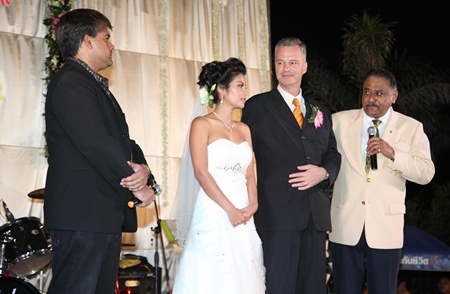 Tony and Peter Malhotra interview Ingo and Ao, who spoke of how they met, fell in love and finally tied the knot.