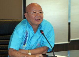 Deputy Mayor Wattana Chantanawaranon leads a preparation meeting for Children's Day Jan. 12.