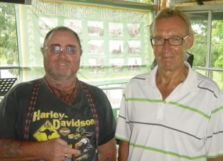 Owen & Willem, near pin winners on Thursday.