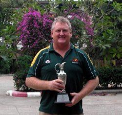 Ian Plummer - third division winner at the IPGC Club Championship.