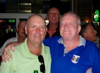 Bob Watson (left) and George Jackson.