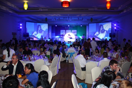 A great atmosphere at Furama Hotel Jomtien party.