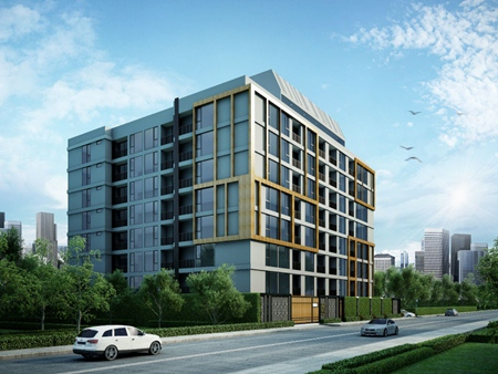 An artist's impression of the completed art@Thonglor condominium.