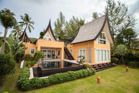 A villa at the award winning Siam Royal View Koh Chang Marina.