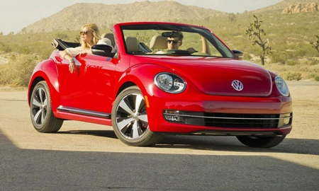 Topless VW.