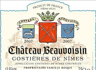Beauvoisin wine label.