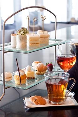 Afternoon tea at Drift.