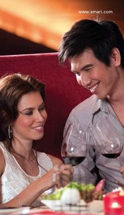 A wine tasting experience at Amari Orchid Pattaya.