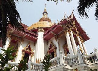 South Pattaya's Wat Chaimongkol Wat Phra Aaramluang has been designated a royal temple.