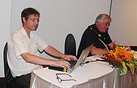 Uli Kaiser (left) and Frank Holzer (right).