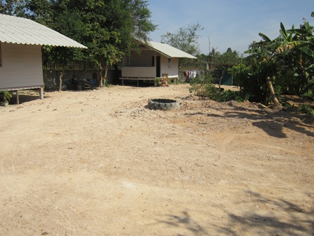 View of ladies area.