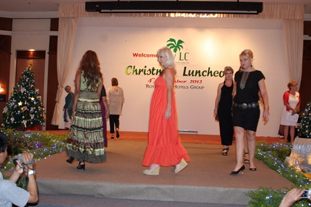 PILC members put on a fashion show of the upcoming season's collections.