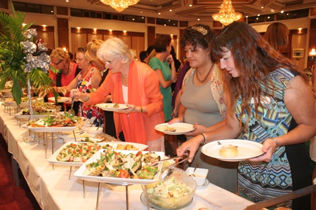 The Royal Cliff puts on a delicious spread of food.