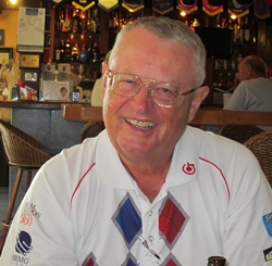 Friday winner Dick Warberg.