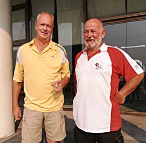 Martin Todd & Max Bracegirdle.