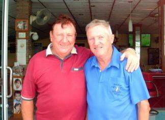 Brian Maddox (left) and Bob Pearce.
